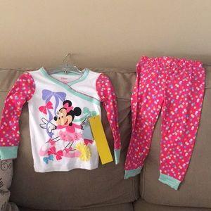 Disney Store Little Girls PJs